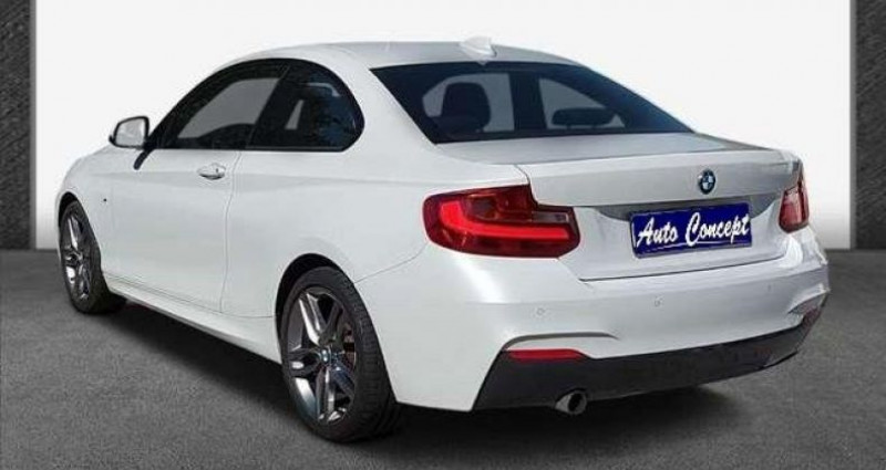 Bmw Serie 2 Coupe I (F22) 218i 136ch M Sport Blanc occasion à LANESTER - photo n°5