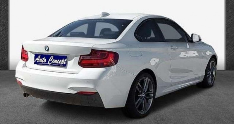 Bmw Serie 2 Coupe I (F22) 218i 136ch M Sport Blanc occasion à LANESTER - photo n°6