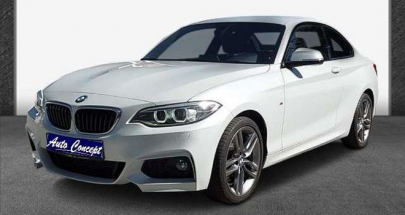 Bmw Serie 2 Coupe I (F22) 218i 136ch M Sport Blanc occasion à LANESTER
