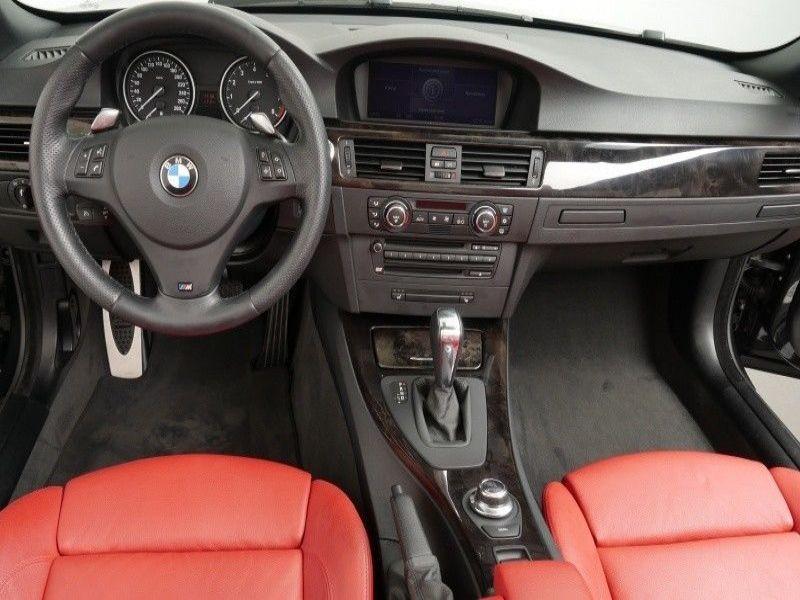 Bmw Serie 3 328 i M-sport Cabriolet Noir occasion à Beaupuy - photo n°2