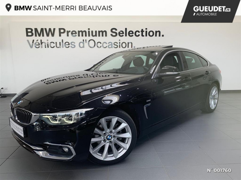 Bmw Serie 4 418dA 150ch M Sport Euro6d-T Gris occasion à Beauvais