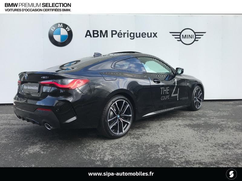 Bmw Serie 4 420iA 184ch M Sport Noir occasion à Trelissac - photo n°3