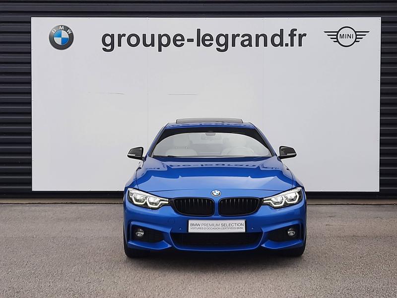 Bmw Serie 4 440iA xDrive 326ch M Sport Bleu occasion à Valframbert - photo n°8