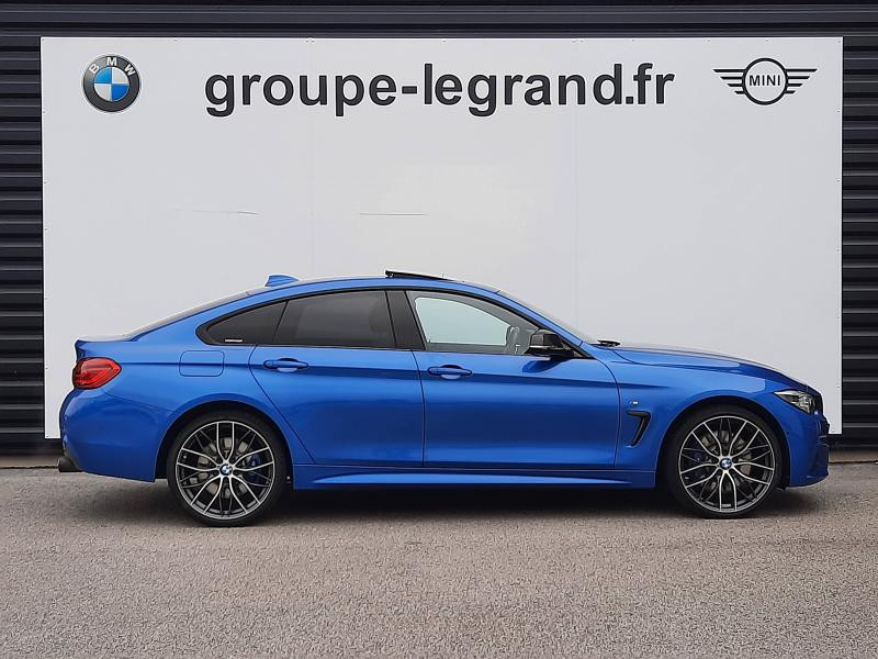Bmw Serie 4 440iA xDrive 326ch M Sport Bleu occasion à Valframbert - photo n°6