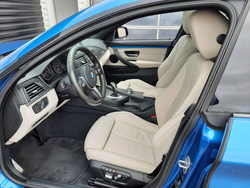 Bmw Serie 4 440iA xDrive 326ch M Sport Bleu occasion à Valframbert - photo n°9