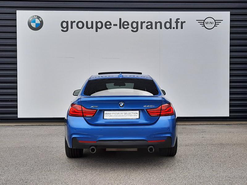Bmw Serie 4 440iA xDrive 326ch M Sport Bleu occasion à Valframbert - photo n°4