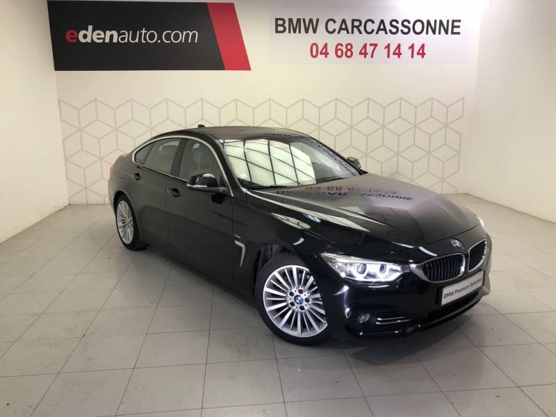 Bmw Serie 4 GRAN COUPE F36 LCI Coupé 418d 150 ch BVA8 Luxury Start Editi  occasion à Carcassonne