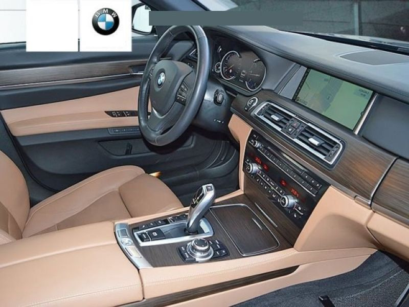 Bmw Serie 7 750 D xDrive Gris occasion à Beaupuy - photo n°3