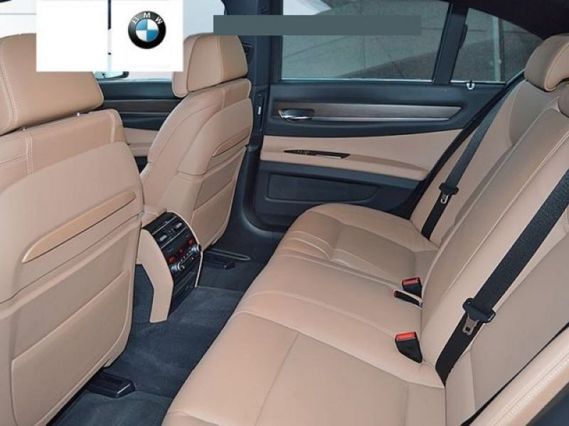 Bmw Serie 7 750 D xDrive Gris occasion à Beaupuy - photo n°5