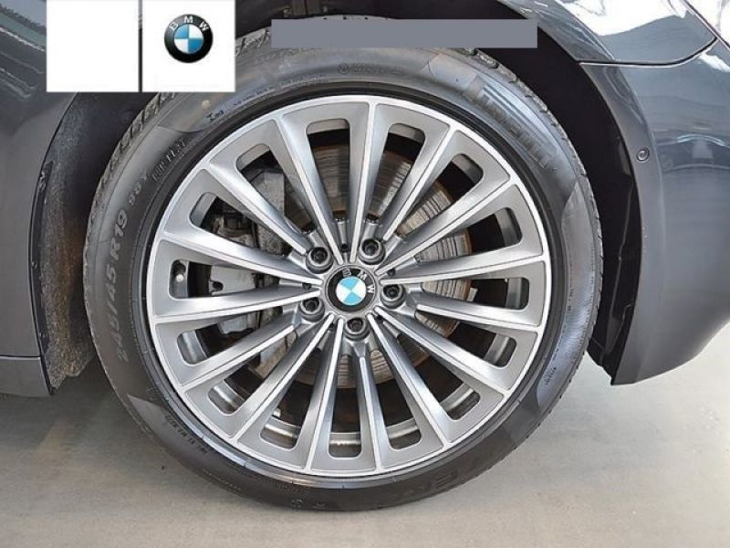 Bmw Serie 7 750 D xDrive Gris occasion à Beaupuy - photo n°8