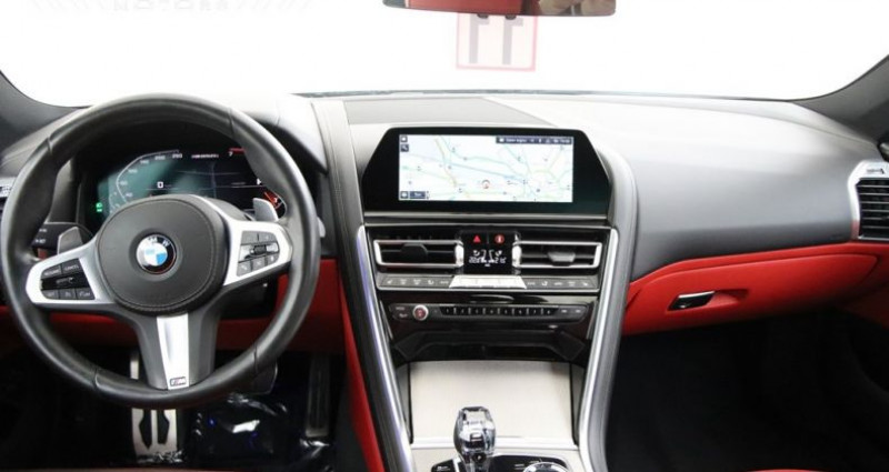 Bmw Serie 8 850 M850i xDrive - NAVI PRO DRIVING ASSISTANT 360° CAME Noir occasion à Brugge - photo n°5