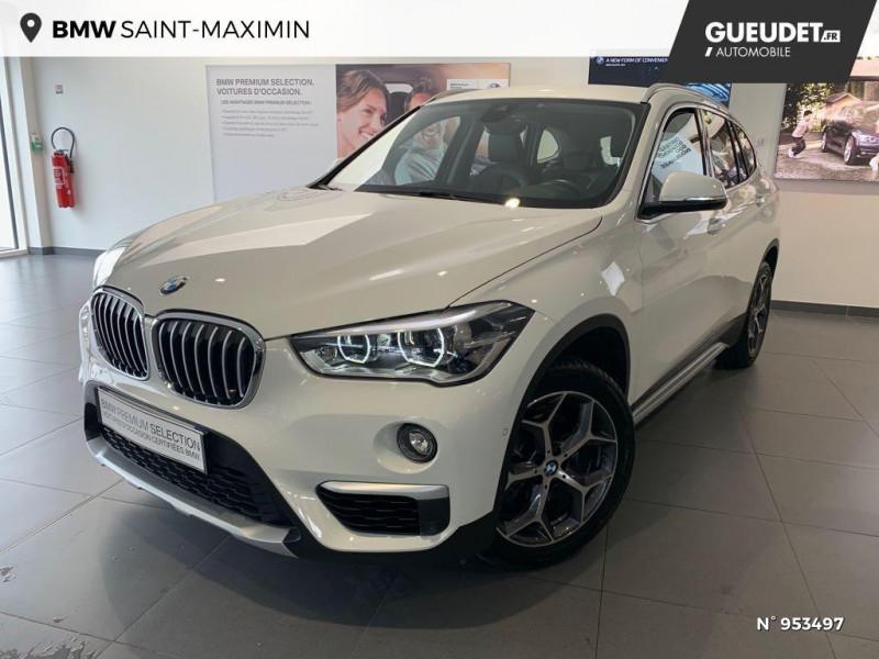 Bmw X1 (F48) X1 SDRIVE18I XLINE Blanc occasion à Saint-Maximin