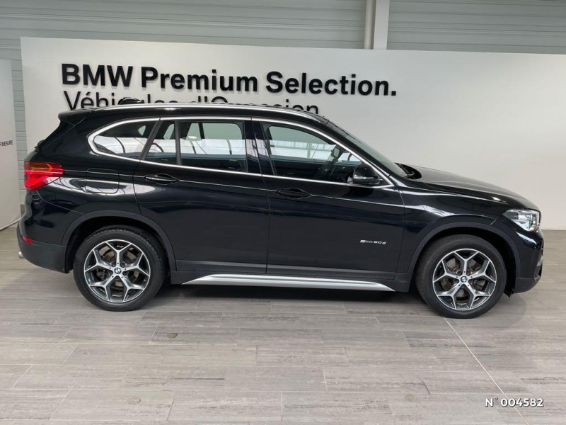 Bmw X1 BMW X1 (F48) SDRIVE20D XLINE BVA8 Noir occasion à Rivery - photo n°2
