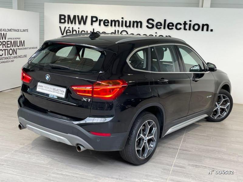 Bmw X1 BMW X1 (F48) SDRIVE20D XLINE BVA8 Noir occasion à Rivery - photo n°8