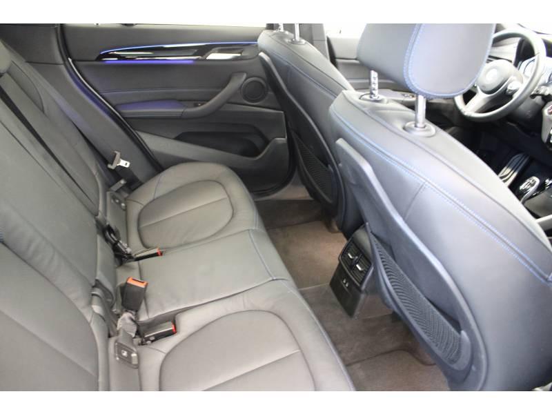 Bmw X1 F48 LCI sDrive 18d 150 ch BVA8 M Sport Blanc occasion à Lescar - photo n°18