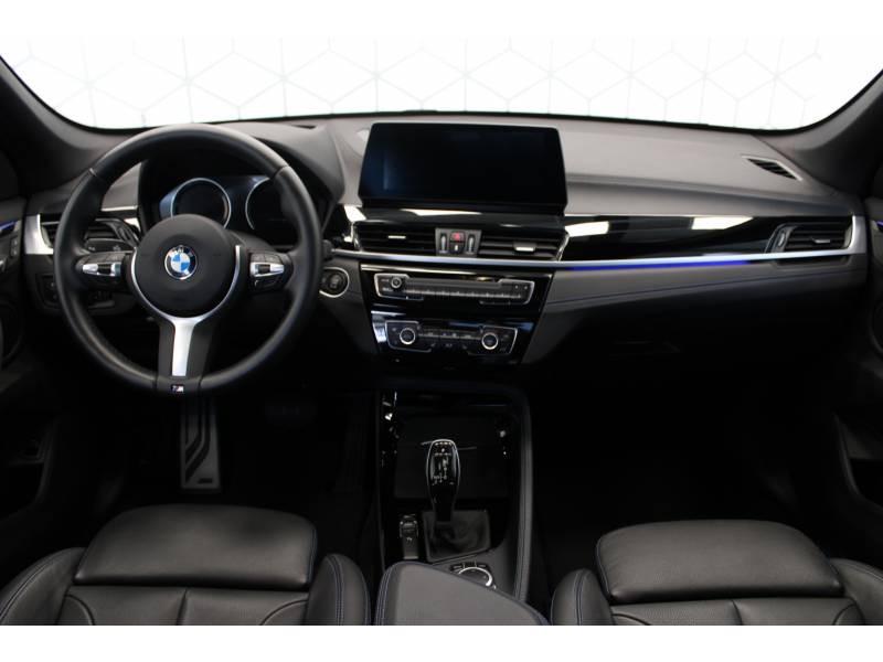 Bmw X1 F48 LCI sDrive 18d 150 ch BVA8 M Sport Blanc occasion à Lescar - photo n°5