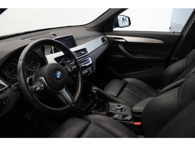 Bmw X1 F48 sDrive 18d 150 ch BVA8 M Sport Noir occasion à Lescar - photo n°4