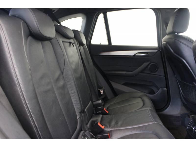Bmw X1 F48 sDrive 18d 150 ch BVA8 M Sport Noir occasion à Lescar - photo n°10