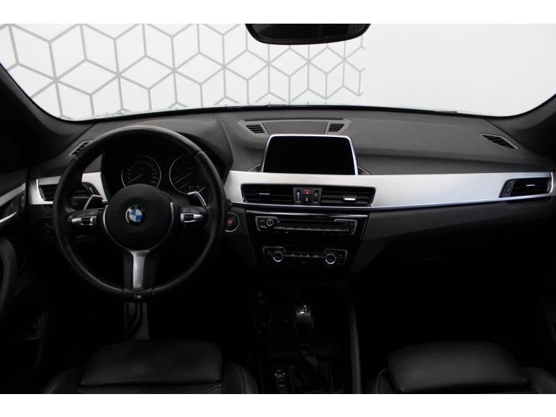 Bmw X1 F48 sDrive 18d 150 ch BVA8 M Sport Noir occasion à Lescar - photo n°5