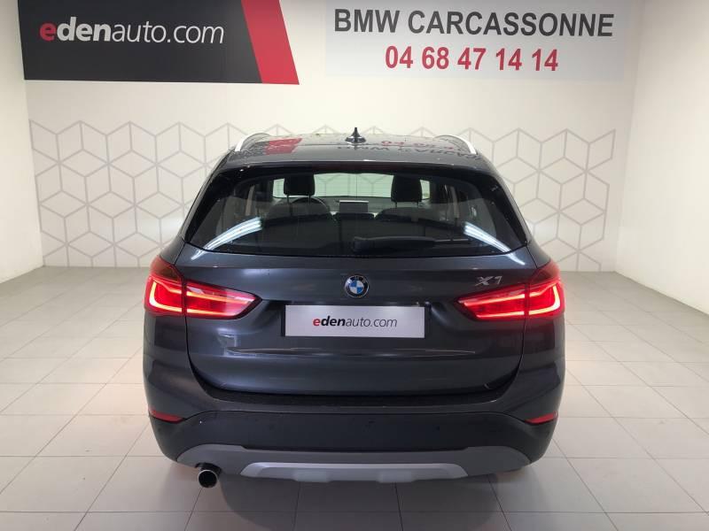 Bmw X1 F48 sDrive 18d 150 ch BVA8 xLine Gris occasion à Carcassonne - photo n°18