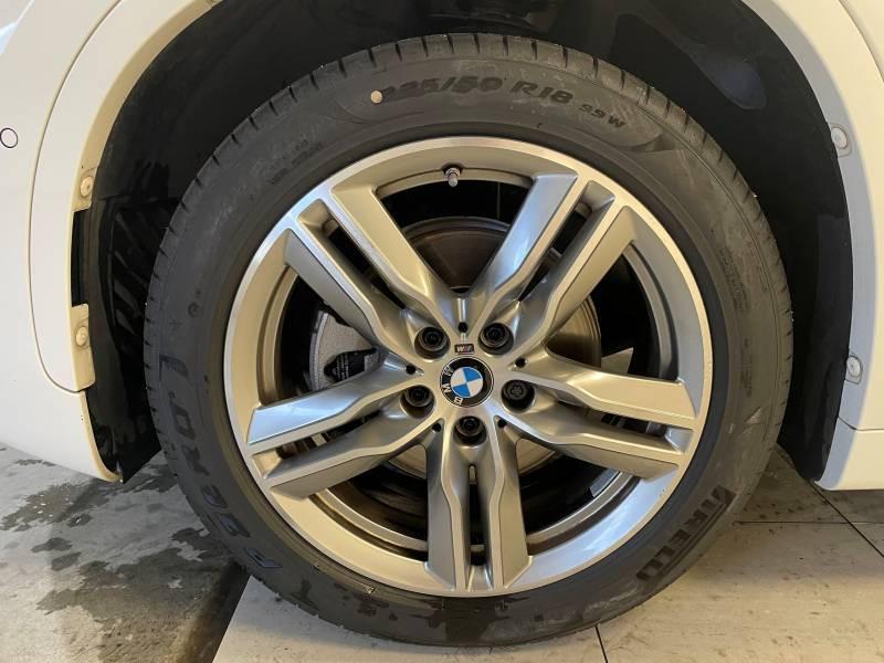 Bmw X1 F48 sDrive 18i 140 ch M Sport Blanc occasion à Béziers - photo n°5