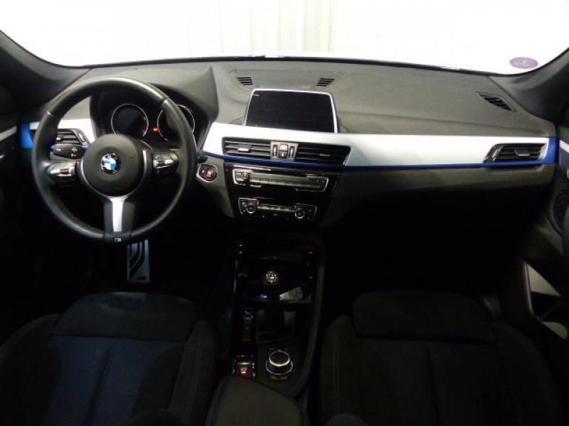 Bmw X1 F48 sDrive 18i 140 ch M Sport Blanc occasion à MORLAIX - photo n°5
