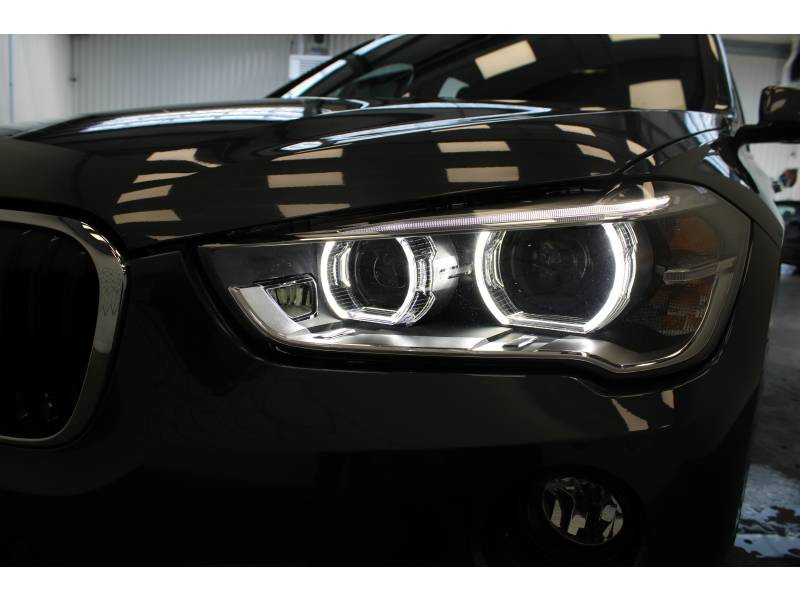 Bmw X1 F48 xDrive 18d 150 ch BVA8 M Sport Gris occasion à Lescar - photo n°16