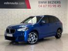 Bmw X1 F48 xDrive 20d 190 ch BVA8 M Sport Bleu 2018 - annonce de voiture en vente sur Auto Sélection.com