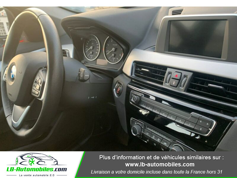 Bmw X1 s Drive 18d F48 Blanc occasion à Beaupuy - photo n°9
