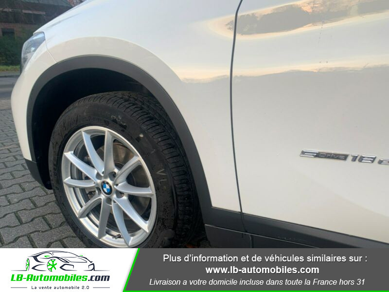 Bmw X1 s Drive 18d F48 Blanc occasion à Beaupuy - photo n°14