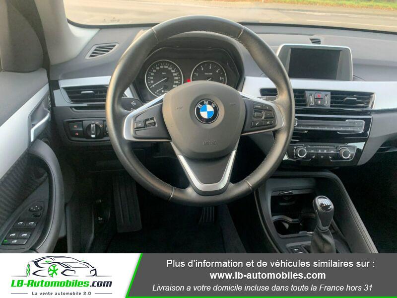 Bmw X1 s Drive 18d F48 Blanc occasion à Beaupuy - photo n°2