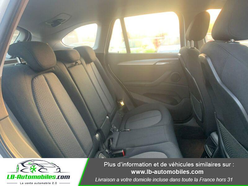 Bmw X1 s Drive 18d F48 Blanc occasion à Beaupuy - photo n°4