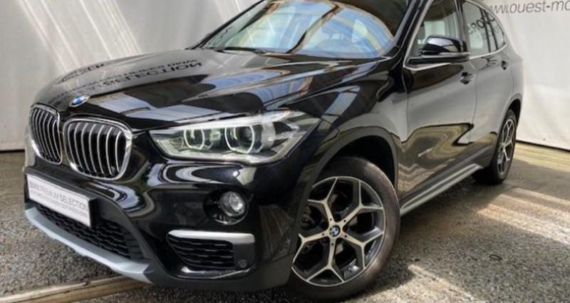 Bmw X1 sDrive18d 150ch xLine Noir occasion à BREST