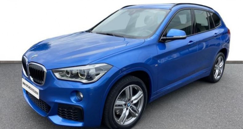 Bmw X1 sDrive18dA 150ch M Sport Euro6c Bleu occasion à Cholet