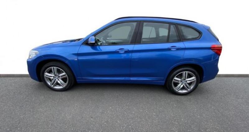 Bmw X1 sDrive18dA 150ch M Sport Euro6c Bleu occasion à Cholet - photo n°3