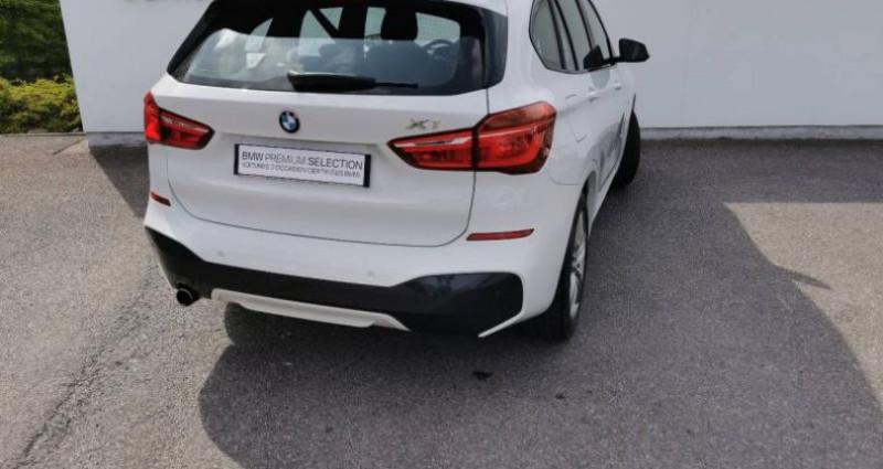 Bmw X1 sDrive18dA 150ch M Sport Euro6c Blanc occasion à METZ - photo n°3
