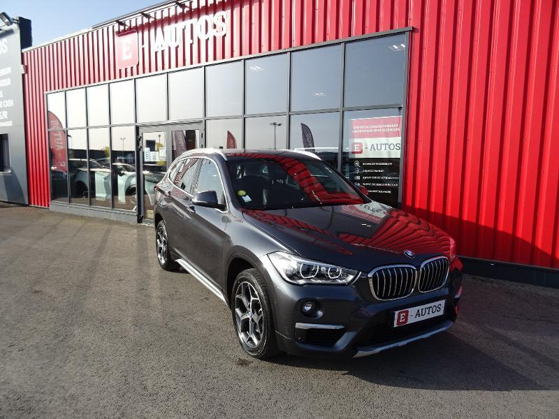 Bmw X1 sDrive18dA 150ch xLine Euro6d-T Gris occasion à Barberey-Saint-Sulpice