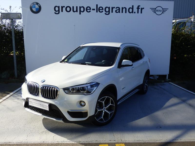 Bmw X1 sDrive18dA 150ch xLine Blanc occasion à Laval