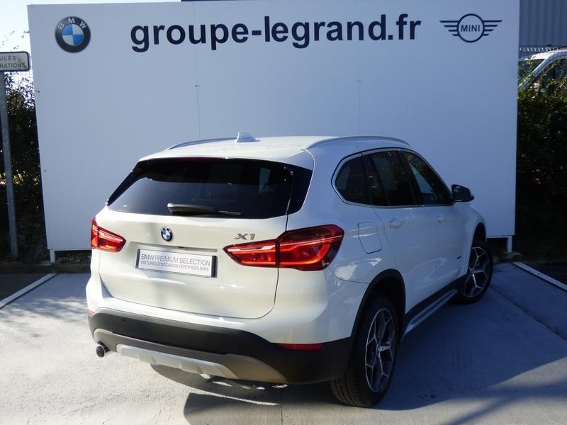 Bmw X1 sDrive18dA 150ch xLine Blanc occasion à Laval - photo n°2