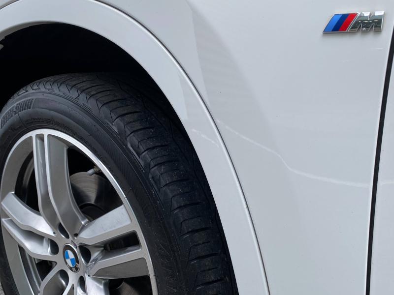 Bmw X1 sDrive18i 140ch M Sport Blanc occasion à Le Mans - photo n°8