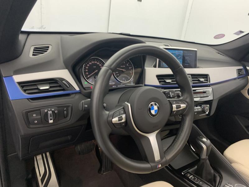 Bmw X1 sDrive18iA 140ch M Sport DKG7 + Toit ouvrant Argent occasion à SAINT-GREGOIRE - photo n°10