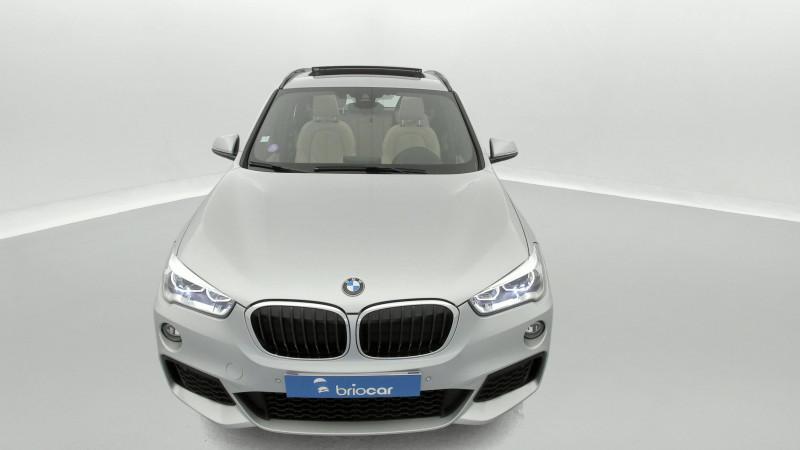 Bmw X1 sDrive18iA 140ch M Sport DKG7 + Toit ouvrant Argent occasion à SAINT-GREGOIRE - photo n°8