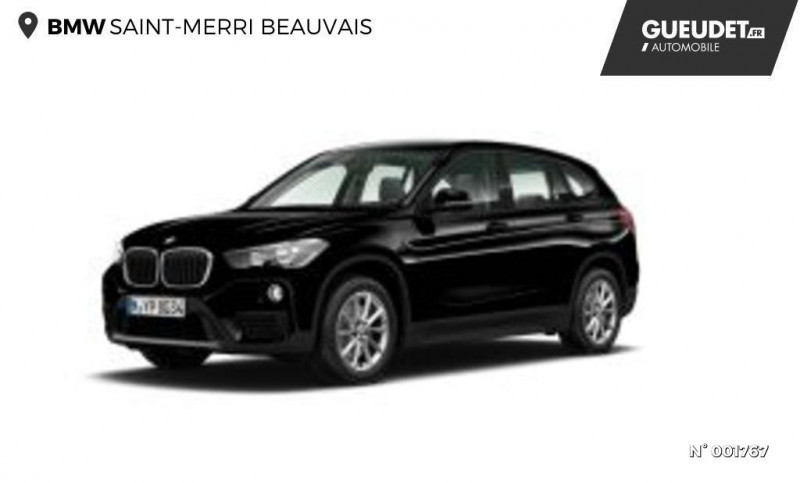 Bmw X1 sDrive18iA 140ch xLine DKG7 Noir occasion à Beauvais