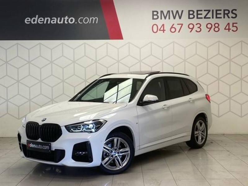 Bmw X1 X1 sDrive 18i 140 ch M Sport 5p Blanc occasion à Béziers