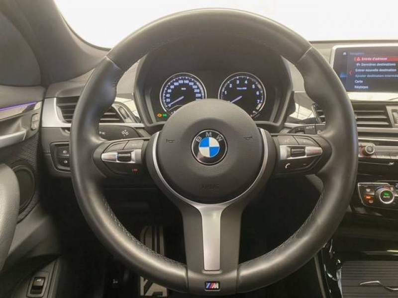 Bmw X1 X1 sDrive 18i 140 ch M Sport 5p Blanc occasion à Béziers - photo n°10