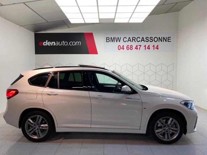 Bmw X1 X1 xDrive 25e 220 ch BVA6 M Sport 5p Blanc occasion à Carcassonne - photo n°3