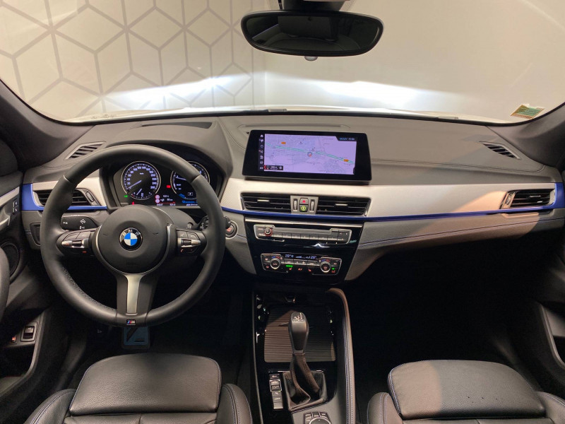 Bmw X1 X1 xDrive 25e 220 ch BVA6 M Sport 5p Blanc occasion à Carcassonne - photo n°5