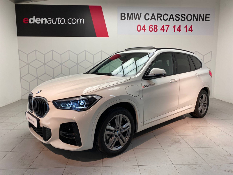 Bmw X1 X1 xDrive 25e 220 ch BVA6 M Sport 5p Blanc occasion à Carcassonne