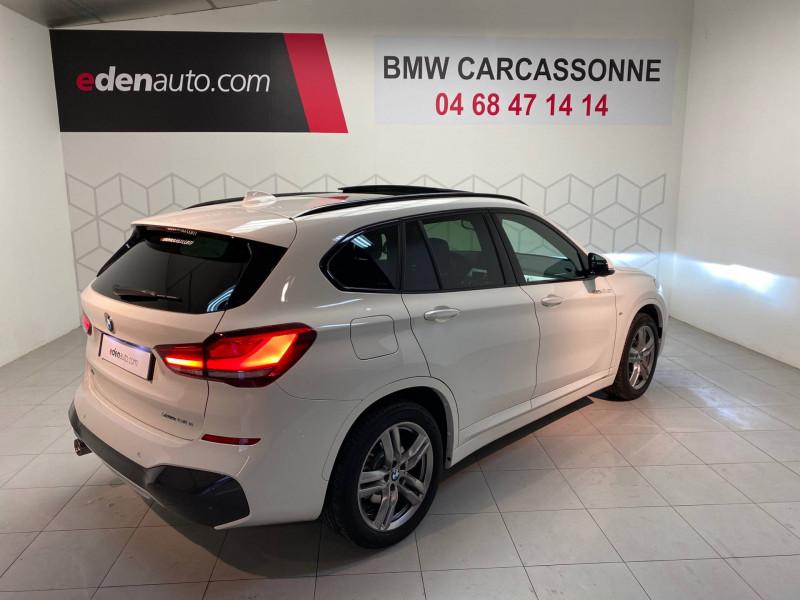 Bmw X1 X1 xDrive 25e 220 ch BVA6 M Sport 5p Blanc occasion à Carcassonne - photo n°2