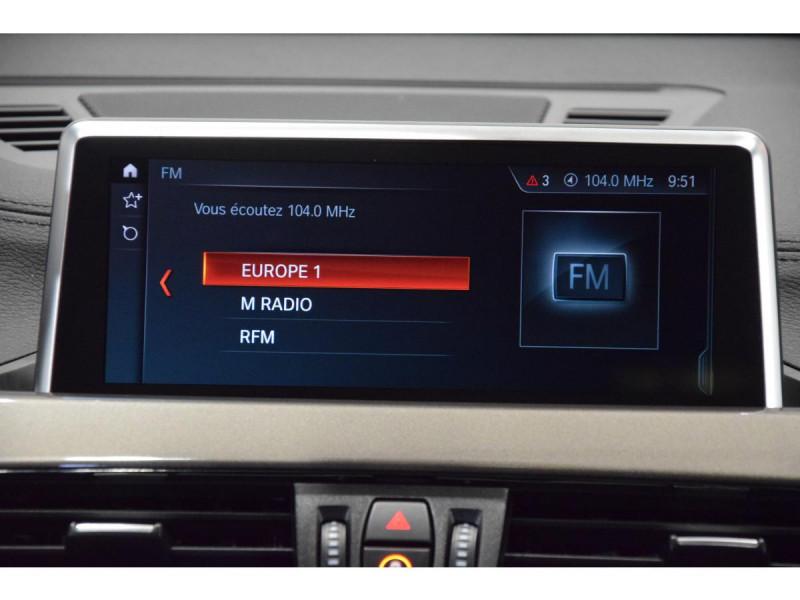 Bmw X1 xDrive 18d 150cv F48 LCI xLine PHASE 2 Blanc occasion à Riorges - photo n°11